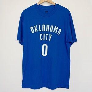 OKC Thunder Russell Westbrook 0 T-Shirt Oklahoma
